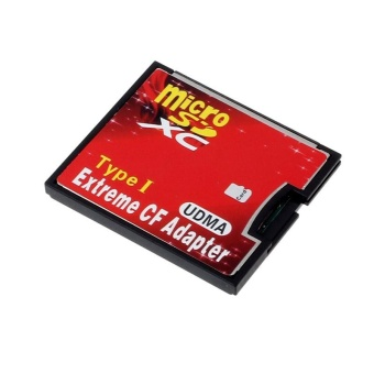Micro SD TF SDHC To Type I 1 Compact Flash Card CF Reader Adapter UDMA -