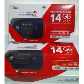 MIFI HUAWEI E5577 UNLOCK + FREE PERDANA TELKOMSEL 14GB 2 BULAN