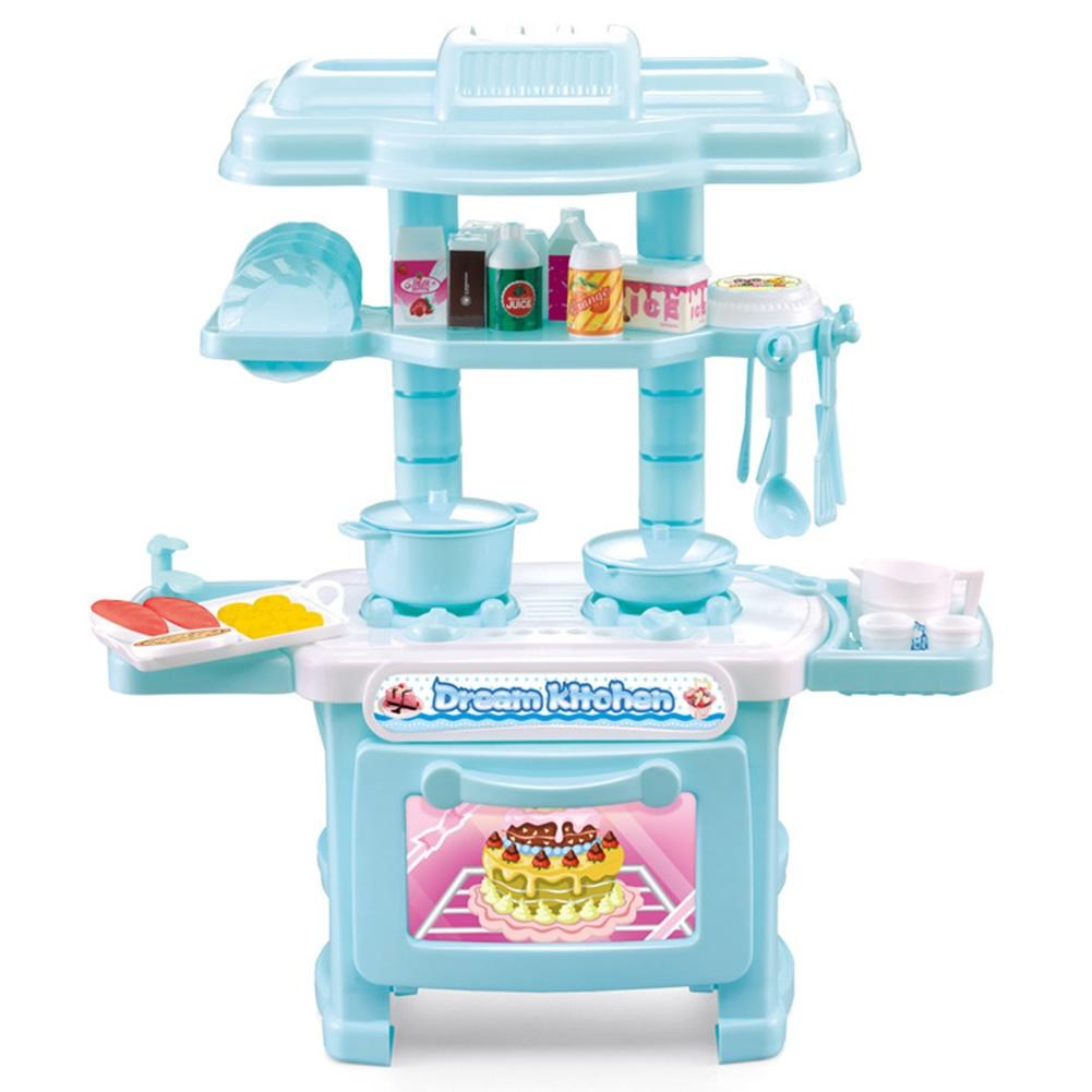 Cek Harga Baru Kids Kitchen Cooking Pretend Role Play Toy Set With ...