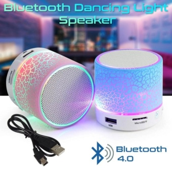 Mini Speaker Portable Bluetooth Wireless With Superbass Stereo LED - Random