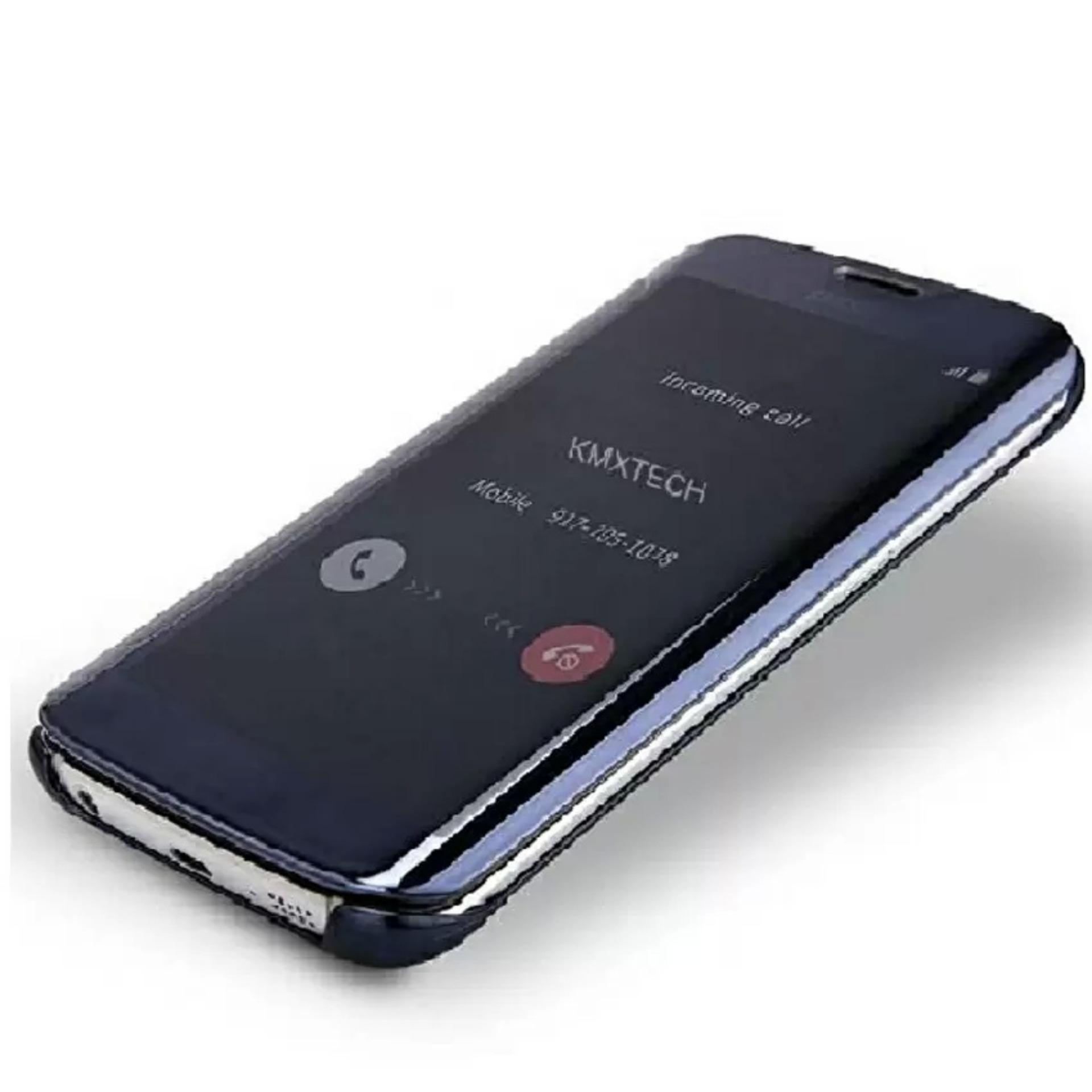 MNC Flipcase Flip Mirror Cover S View Transparan Auto Lock Casing Hp For Samsung J7 Prime