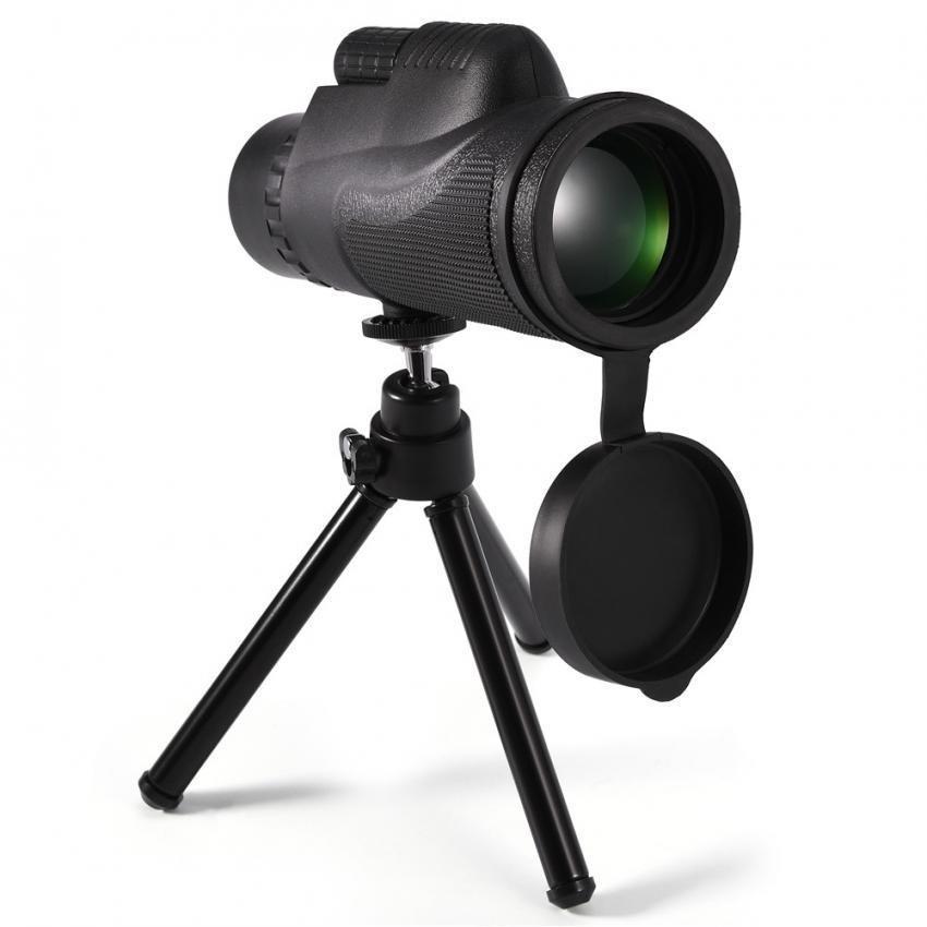 ... Telepon Seluler 10X Zoom Teleskop Monokuler Optik Lensa HD dengan Dudukan Tripod Telepon Klip-Intl ...
