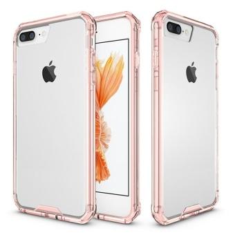 Moonmini Case untuk iPhone 8 PLUS Alas Super Tipis Goresan Penutup Pelindung Shockproof Casing Ponsel (