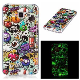 Moonmini Case for Samsung Galaxy J5(2015) Luminous Effect Fluorescent Glow Soft Back Case - Garbage - intl ...