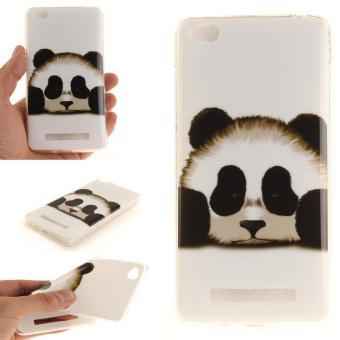 Moonmini Case untuk Xiaomi Redmi 4A Ultra Slim Lembut TPU PELINDUNG Belakang-Panda-Intl