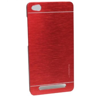 Motomo Metal Case for Xiaomi Redmi 3 - Merah