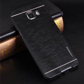 Motomo Metal Case Samsung Galaxy A7 2017 A720 Rubber Polycarbonat + Metal Hardcase Hard Back Case
