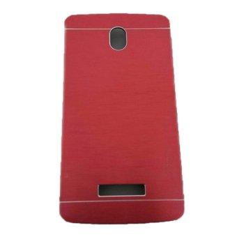 Motomo Oppo Yoyo R2001 Hardcase Backcase Metal Case - Merah