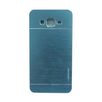 Motomo Samsung Galaxy Grand Prime G530 Hardcase Backcase ino metal - Biru
