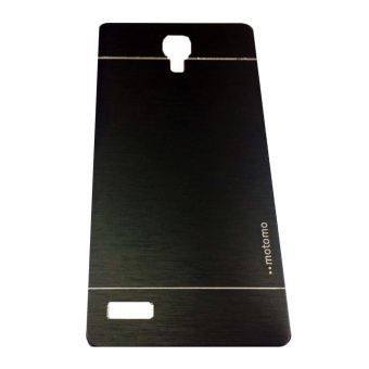 Motomo Xiaomi Redmi Note Hardcase Backcase Metal Case - Hitam