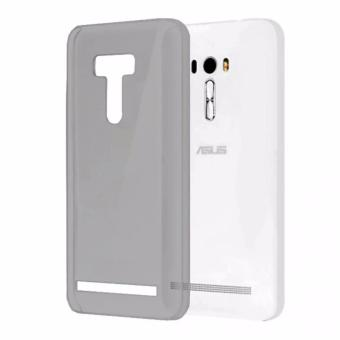 MR Asus Zenfone Selfie ZD551KL Ultrathin / Jelly Case / Softcase /Softshell - Hitam Transparan