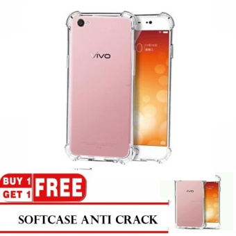 MR Buy 1 Get 1 Bonus Soft Case Anti Crack Vivo V5 / Anti Shock Case