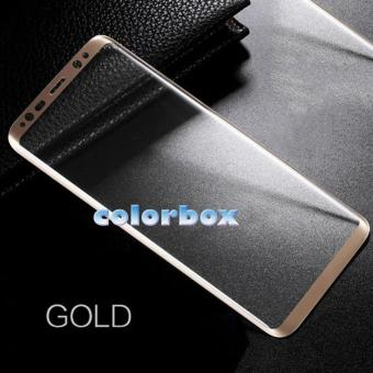 MR Screen Protector Full Screen Gold Samsung Galaxy Note 8 Anti Gores Kaca / Tempered Glass