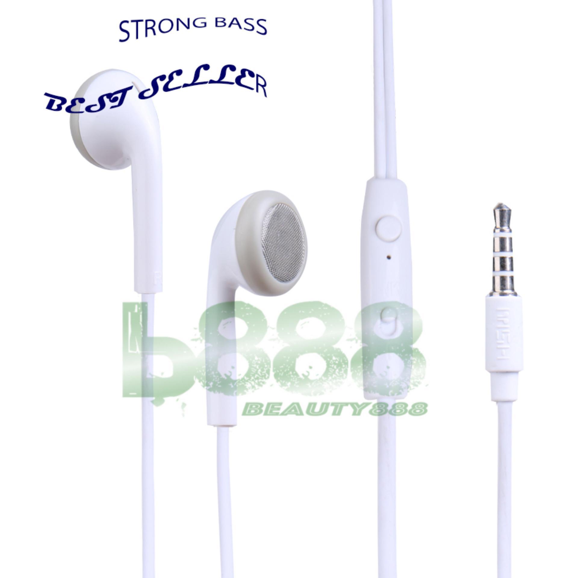 MSH Headset Stereo Mega Bass msh 205 earphone multi guna cocok sebagai earphone xiaomi oppo vivo