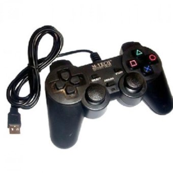 Mtech Gamepad USB Single Getar - Hitam