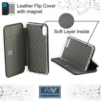 Discount Mv Sarung Kulit Xiaomi Redmi 4A Leather Case Flip Cover Wallet Flip beli sekarang -