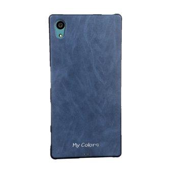 Mycolors Warna Solid TPU Soft Shell Phone Case untuk S Ony Xperia Z5 Premium/