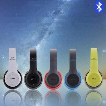 Baru P47 Wireless Bluetooth Headset Headset Kreatif Nirkabel Headset Stereo Telepon 4.1 Bluetooth .