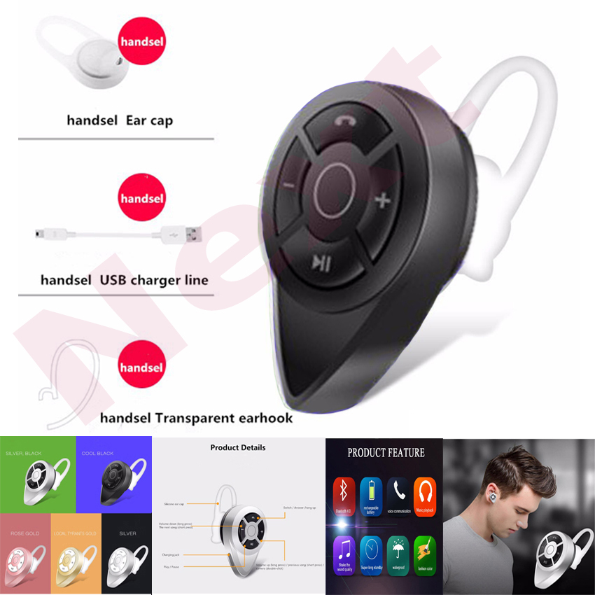 gshop headset mini j1 wireless bluetooth 4.1 stereo in-ear for smart phone android & ios hitam