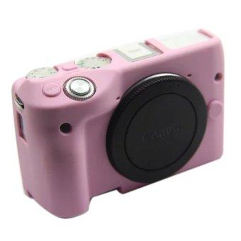 ... Nice Soft Camera bag Silicone Case Rubber Camera Protective BodyCover Case Skin For Canon EOS M3