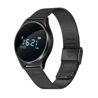 Smart Band Stainless Steel Watch M7 Tekanan Darah Tali Smart Bracelet Watch Heart Rate Monitor Smartband