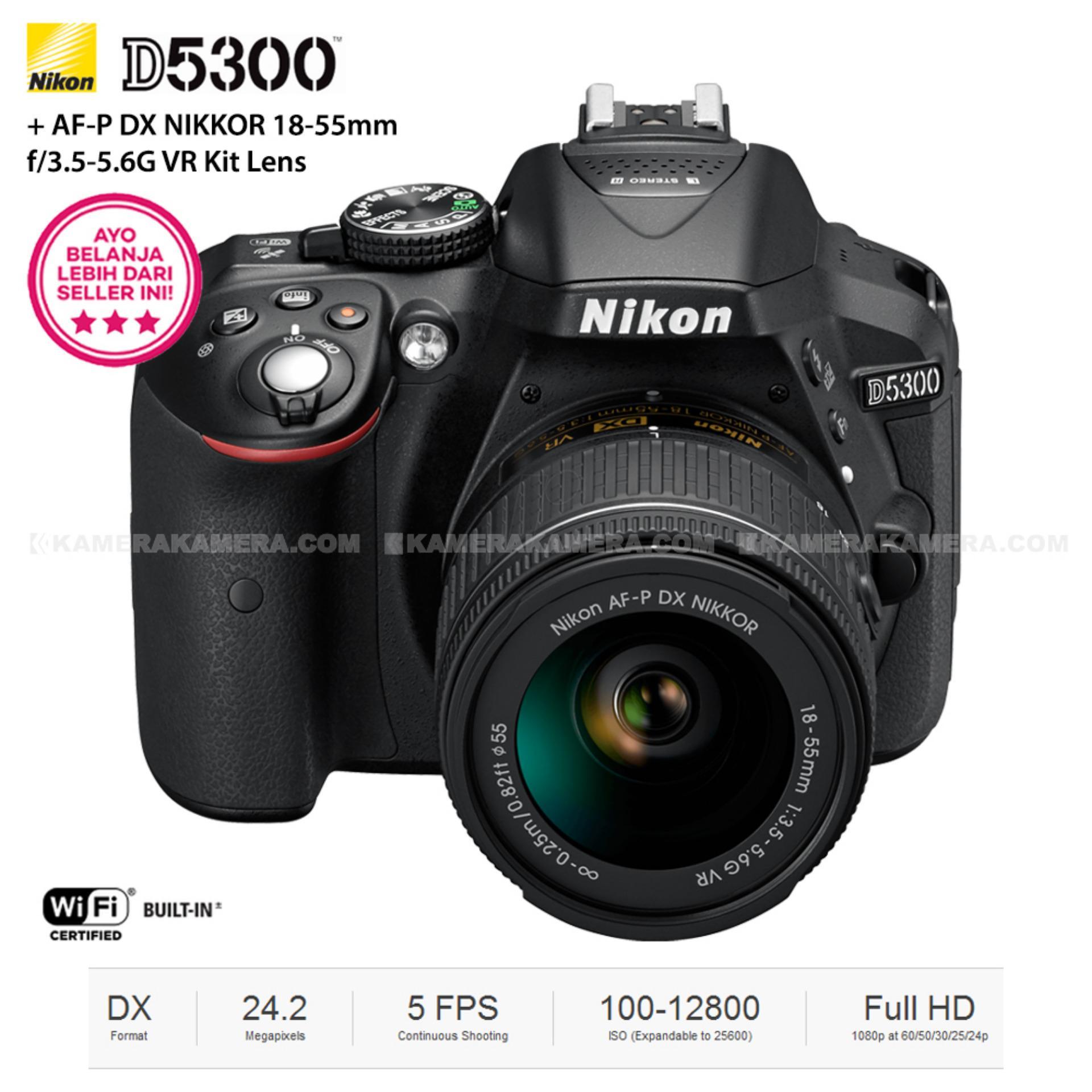Harga Nikon 1 J5 Double Lens Nikkor Vr 10 30mm 30 110mm Kit Black D5300 Af P Dx 18 55mm F 35