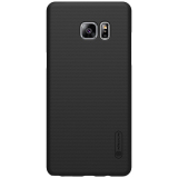 Gambar Produk Rinci Nillkin For Samsung Galaxy Note 7 / N930 / Note FE Super Frosted Shield Hard Case Original - Hitam + Gratis Anti Gores Clear Terkini