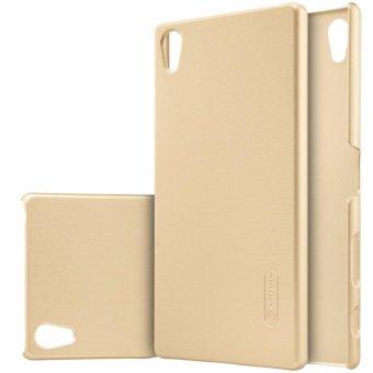 Nillkin Frosted Case Sony Xperia Z5 Premium (Xperia Z5 Plus) - Emas + Free