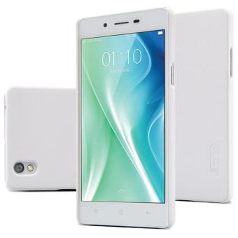 Nillkin Frosted Shield Hard Case Oppo Mirror 5 - Putih + Free Nillkin Screen Protector
