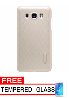Nillkin Frosted Shield Hardcase for Samsung Galaxy J5 2016 (J510) - Gold + Free