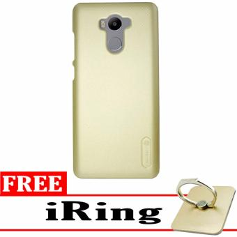 Nillkin Frosted Shield Hardcase for Xiaomi Redmi 4 Prime - Gold + Free iRing