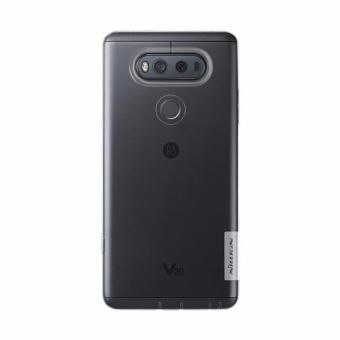 Nillkin ORIGINAL Nature LG V20 - Clear/Transparan Bening Ultrathin TPU Jelly Silicone Softcase Backcase