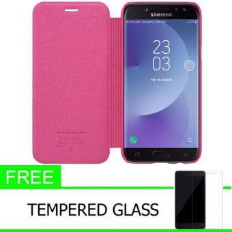 Nillkin Sparkle Leather Case / Flip Case Cover Original Samsung Galaxy J7 2017 / J7 PRO