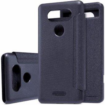 Nillkin Sparkle Series New Leather Case For Lg V20 - Hitam(Black)