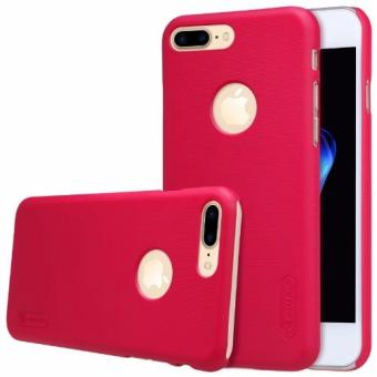 Nillkin Super Frosted Shield Matte cover case for iPhone 7 Plus - Merah + free screen