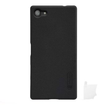 Nillkin ORIGINAL Super Frosted Shield Sony Xperia Z5 Compact - Black/Hitam Hardcase Backcase Backcover