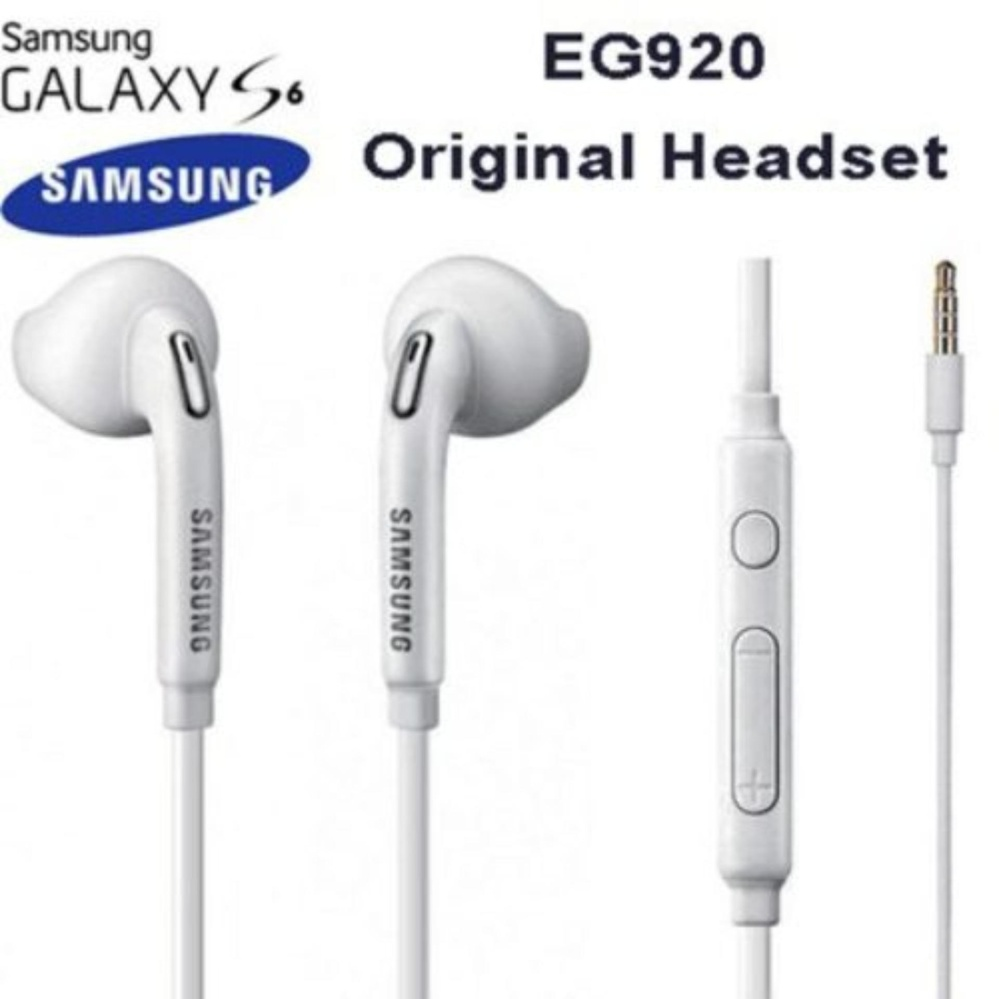 NNC Headset Earphone Headphone Handfree Mic For Samsung S6 S5 S4 Note 2 3 Phones In-Ear ORIGINAL