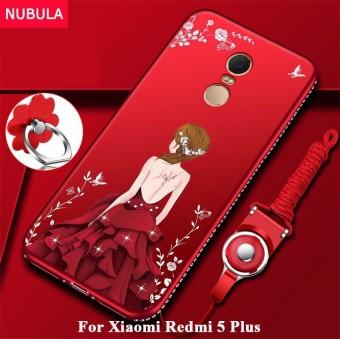 NUBULA Back Cover For Xiaomi Redmi 5 Plus Pretty Diamond Ultra-thin TPU Protection Phone