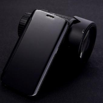 OEM Vivo V5 Flipcase Flip Mirror Cover S View Transparan Auto Lock Casing Hp