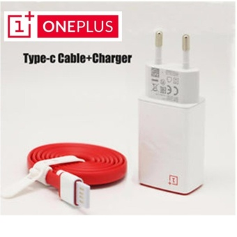 One Plus Flash Charger Type C USB Data Sync - Red