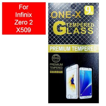 ONE-X 2.5D Rounded Tempered Glass for Infinix Zero 2 X509 - Clear
