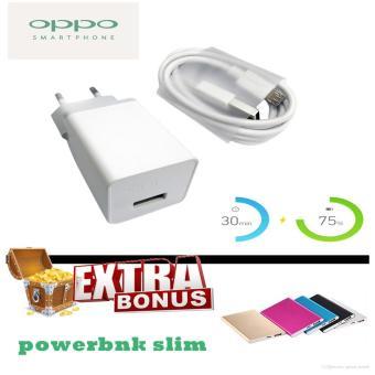 OPPO AK903 Fast Charging 2A + Free powerbank slim