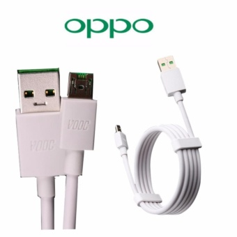 OPPO  Kabel Data VOOC Fast Charging Original - Putih