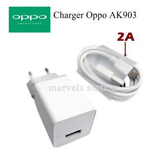 Oppo Travel Charger AK903 Micro USB 2A 5V - Original