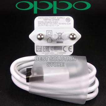 OPPO Travel Charger Ak903 Micro USB 5V - 2A ORIGINAL 100%