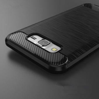 original ipaky shockproof hHybrid Back Case for Samsung Galaxy J3 - Black
