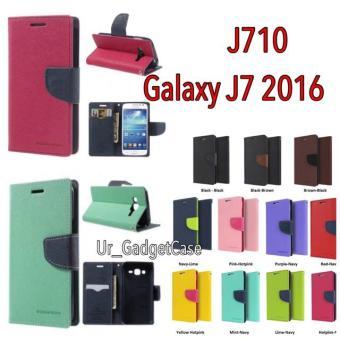 Original Mercury Goospery Fancy Diary Case Samsung Galaxy J7 2016 J710