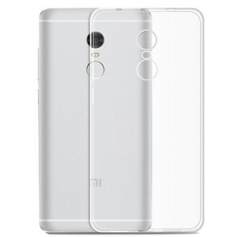 Original Ultra Thin Case for Xiaomi Redmi Note 4 - Putih Transparant