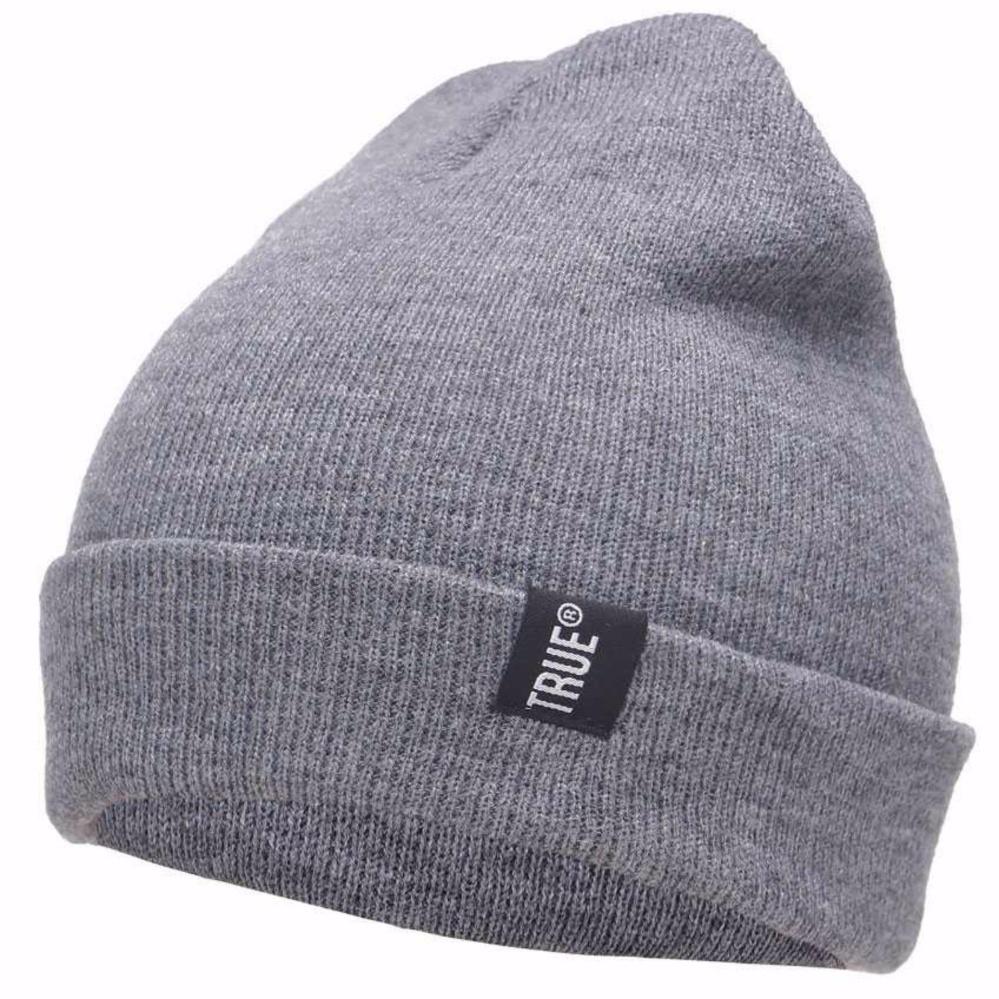 Ormano Topi Kupluk Rajut True Fashion Casual Winter Hat Beanie s6910 - Gray 218d7249d2