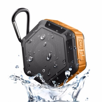 Outdoor Wireless Speaker Portable Bluetooth Speaker HD Woofer Waterproof IP65 Speakers - intl